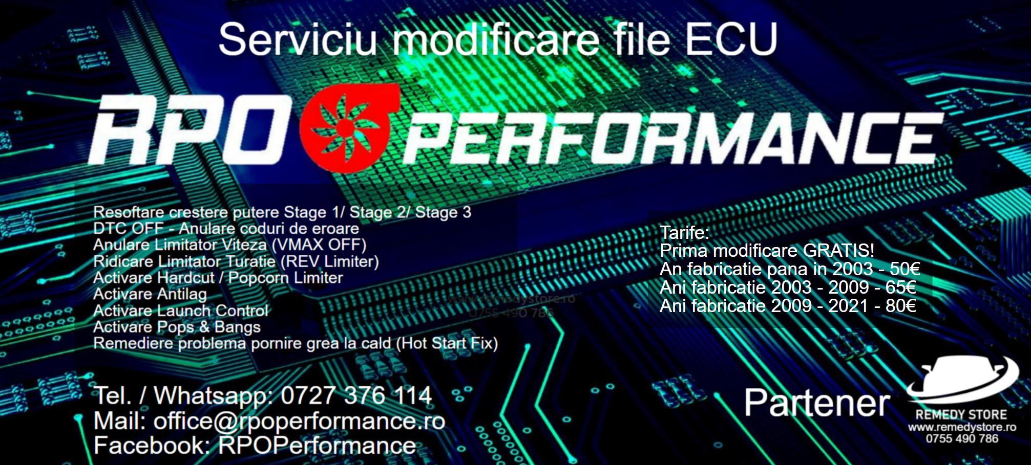 Oferta tarife RPO Performance